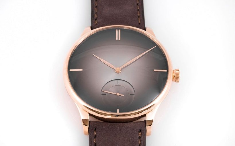 H. Moser Venturer Small Seconds Purity Leather Strap Fake Watches UK