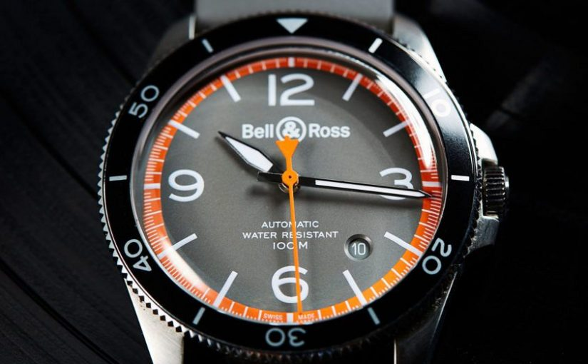 Bell & Ross BR V2-92 Garde-Côtes Orange Circle Replica Watches UK