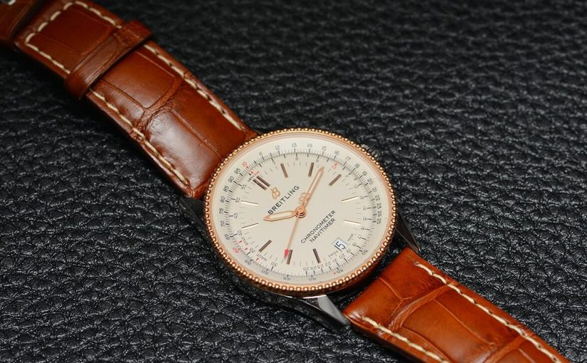 Elegant UK Breitling Navitimer 1 Red Gold Replica Watches For Hot Sale