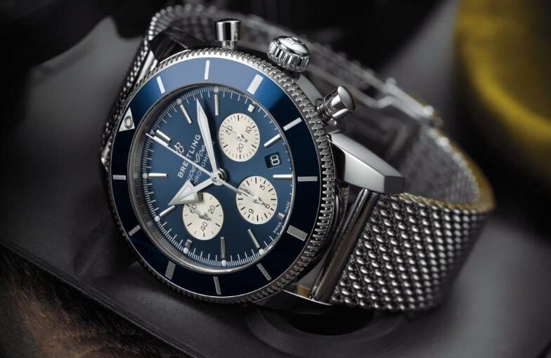 Introducing UK Breitling Superocean Héritage II B01 Chronograph Replica Watches With Blue Dials