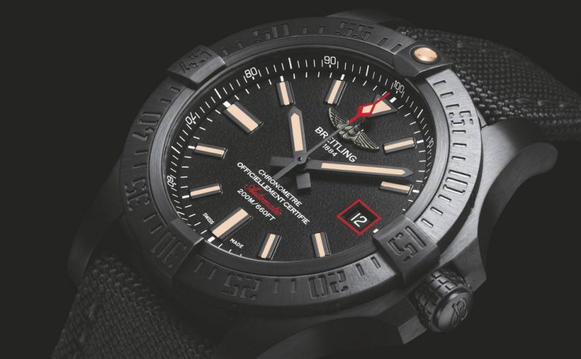 Do You Like High-Performance Fake UK Black Breitling Avenger Blackbird?