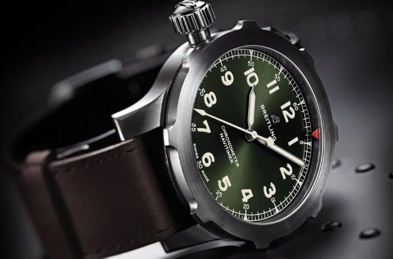 UK Breitling Navitimer 8 Super 8 With Army Green Dials Replica Watches Appealing To Men