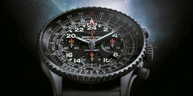 Bold Breitling Navitimer Cosmonaute UK Replica Watches With Black Dials