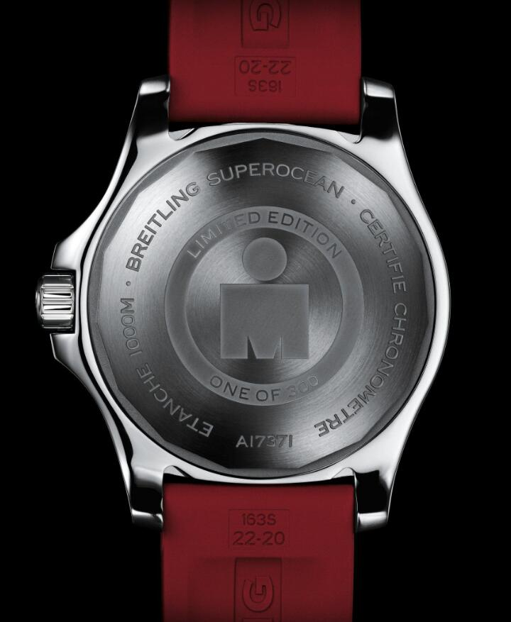 Forever replication watches sales are attractive with red straps.