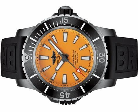 Splendid Replica Breitling Superocean E17369241I1S1 Watches UK With Orange Dials