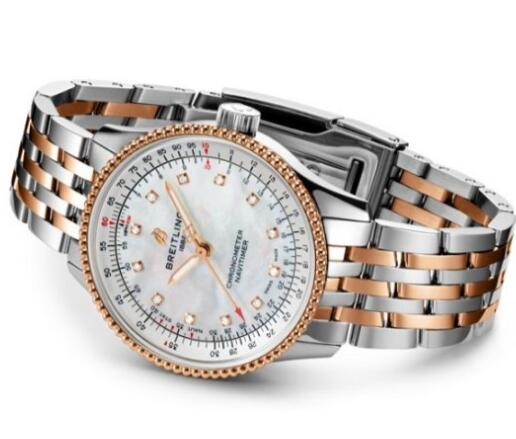 Great Breitling Navitimer Automatic 35 Fake Watches UK For Wise Ladies